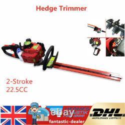 2-Stroke 22.5CC Garden Petrol Hedge Trimmer Brush Cutter Grass Strimmer 56cm NEW