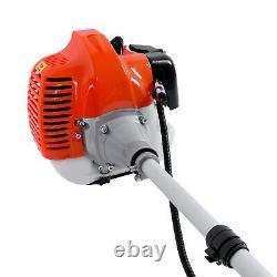 2-Stroke Single Cylinder 52cc Petrol Brush Cutter, Grass Line Trimmer UK