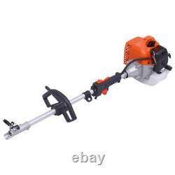 52cc 4-in-1 Multi Garden Petrol Tools Hedge&Grass Trimmer ChainSaw BrushCutter