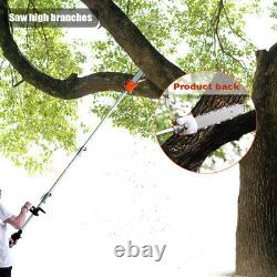 52cc 5 in1 Hedge Trimmer Multi Tool Petrol Strimmer Brush Cutter Garden Chainsaw