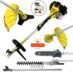 52cc Multi Function 5 in 1 Garden Tool Brush Cutter, Grass Trimmer, Chainsaw UK