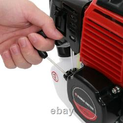 52cc Multi Function Garden Tool 5 in 1 Petrol Strimmer Brush Cutter Chainsaw ME