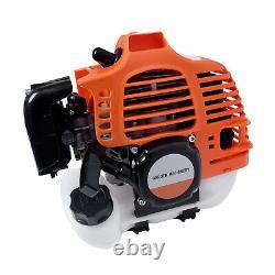 52cc Multi Function Garden Tool Petrol Brush Cutter Chainsaw Grass Trimmer UK