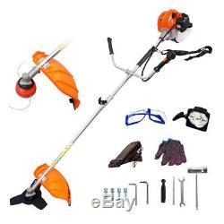 52cc Petrol Garden Brush Cutter, Grass Trimmer Two-stroke Air-cooled Lawn Garden