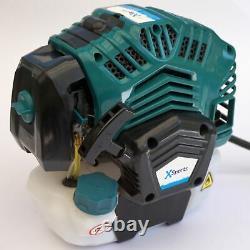 52cc Petrol Powerful Engine Grass Strimmer Trimmer Brush Cutter Metal Blade