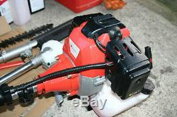 5 in 1 Multi Tool Petrol Garden Trimmer Brushcutter Chainsaw Pruner