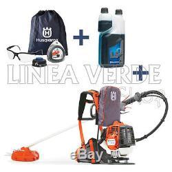 BRUSHCUTTER TRIMMER Petrol Padded Backpack HUSQVARNA 553RBX +1 LITER OIL AND KIT