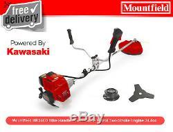 EX Mountfield BK35ED Bike Handle Brush Cutter Petrol Two-Stroke 34.4cc RRP £319