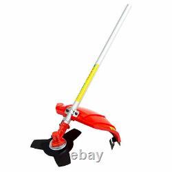 FOX 6 in 1 Garden Multi Tool Hedge Cutter Chainsaw Grass Trimmer & Brush Cutter