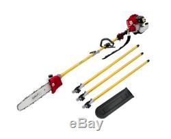 Giantz Pole Chainsaw Brush Cutter Tree 75cc Hedge Pruner Petrol Brush Long