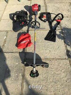 Honda UMK 435E, 4 Stroke Petrol Brushcutter/Strimmer with 2 harnesses, tool bag