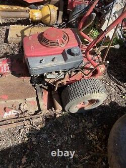 Honda Walk Behind Rough Cut Brush Cutter Petrol Lawn Mower Gxv160 Self Propelled