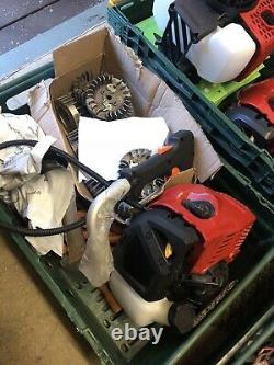 Job Lot Brand New Strimmer Bush Cutter Engines and Spare Parts & Ignition Coils