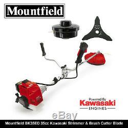 Mountfield BK35ED 35cc Kawasaki Strimmer & Brush Cutter Blade Bullhorn BRAND NEW