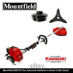 Mountfield Bk27e 27cc Kawasaki Engine Strimmer & Brush Cutter