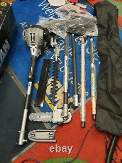 New Titan Petrol Garden Maintenance Multi-Tool Brushcutter Saw Trimmer Hedge