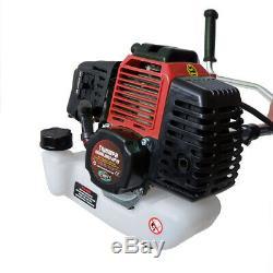 PK 52cc Garden Multi Tool 2in1 Petrol Brush Cutter Grass Trimmer Multitool