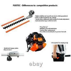 Petrol 5in1 Multitool high-level pruner long-range hedge trimmer brush cutter