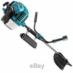 Petrol Garden Brush Bush Cutter 52cc Grass Trimmer Strimmer Lawn Mower