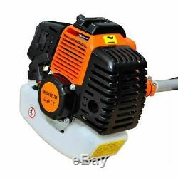 Powerful Petrol Strimmer Garden Grass Brush Cutter Trimmer 52CC Weeder Lawn