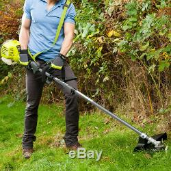 Ryobi 25.4CC 2-in-1 Petrol Full Crank Grass Brush Cutter with ergo handle