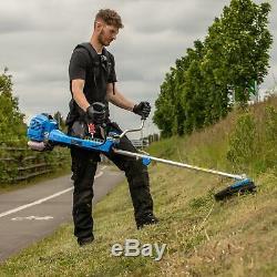 SGS 52cc Professional Anti-Vibration Petrol Grass Trimmer / Brush Cutter