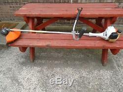 STIHL FS55 27.2cc Petrol Brushcutter / Strimmer 2 stroke, bike handlebar