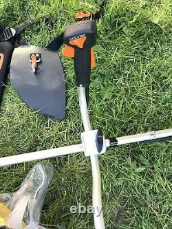 STIHL FS90 Strimmer With Brush Cutter, StringTrimmer, Harness, Ear&Face Guards