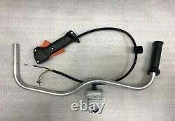 STIHL fs240 fs260 fs360 fs240r BRUSH CUTTER handle bar throttle control NEW OEM
