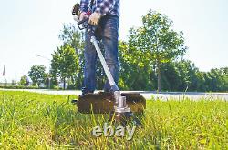 Scheppach 4 in 1 Garden Multi Tool Petrol 32.6cc Strimmer Pole Saw Hedge Brush