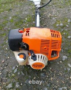 Stihl FS130 Petrol Strimmer Brushcutter. Good Working Order. Free Postage