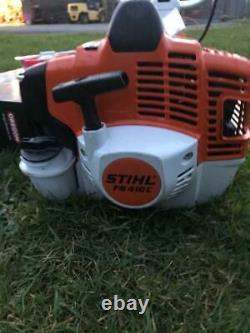 Stihl FS410C-EM strimmer brushcutter oil, cord harness 2020 Into Service