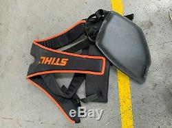Stihl FS410 Bike Handle Brushcutter / Strimmer with new head & harness