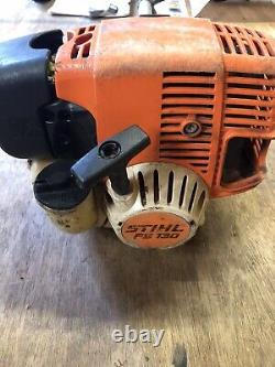 Stihl Fs130 Strimmer/brushcutter With Accessories, Just Had Full Service As Well