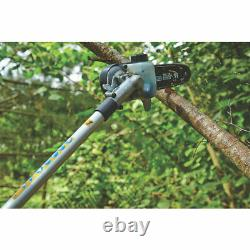 Titan 25.4cc Petrol Garden Maintenance Multi-Tool Brushcutter Saw Trimmer Hedge