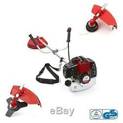 Trueshopping 43cc Petrol Grass Garden Trimmer Brush Cutter Powerful Heavy Duty