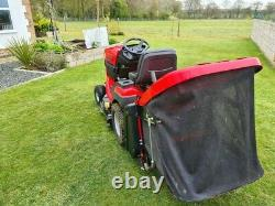 Westwood Ride On Mower With Grass Collection Box And Brush Cutter Deck