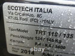 2014 Ecotech Trt 135 Swing Commercial Banks Tondeuse / Rough Cut Brush Cutter