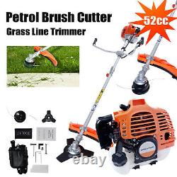 2-stroke Cylindre Simple 52cc Brush Cutter, Grass Line Trimmer Uk