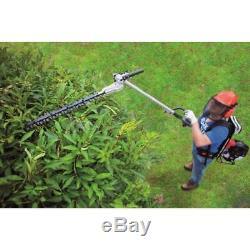 51,7cc Backpacker Débroussailleuse En Ligne Haie Pole Saw Scheppach Mfh5300-4bp