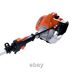 52cc 5 In1 Hedge Trimmer Multi Outil Essence Strimmer Brosse Cutter Garden Chainsaw