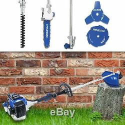 52cc Essence Jardin Multi Fonction Outil Hedge Chainsaw Débroussailleuse Coupe-herbe