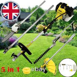 52cc Multi Function 5 En 1 Brosse À Outils De Jardin Cutter, Grass Trimmer, Chainsaw Uk