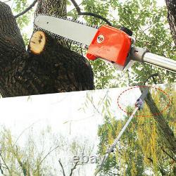 52cc Multi Function Garden Tool 5 En 1 Petrol Strimmer Brush Cutter Chainsaw Royaume-uni
