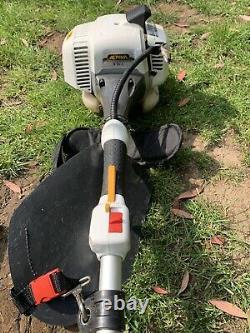 Alpina Brushcutter Avec Fixation À La Tronçonneuse Et Poteau D'extension