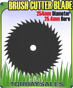 Débroussailleuse Lame Tondeuse À Fil Métallique Disc 254mm 25.4mm Bore Essence 40 Tooth 10