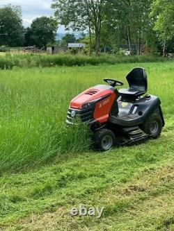 Efco Ef110/24khh Monter Sur Le Jardin Tondeuse À Gazon Assis Sur Tracteur Broyeur Mulcher