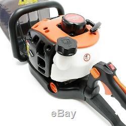 Essence Taille-haies 25.4cc 750 Watt Longueur De Coupe 650mm Débroussailleuse Garden Too