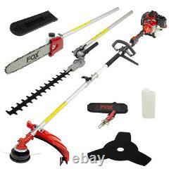 Fox Garden Commander 4in1 Essence Hedge Grass Trimmer Cutter Chainsaw