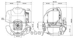 Honda Gx35 Mini 4 Stroke Engine Brush Cutters Concrete Screeds Tillers Pumps